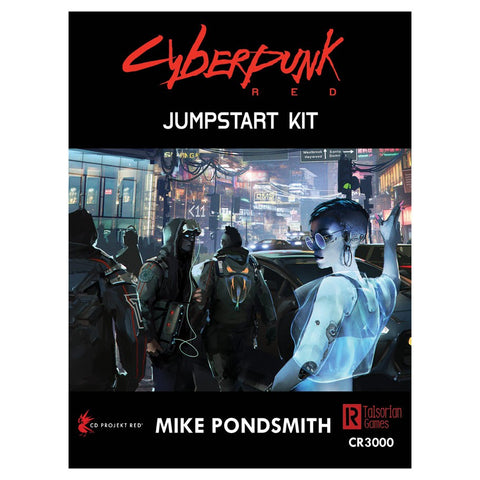 Cyberpunk RPG Red Jumpstart Kit