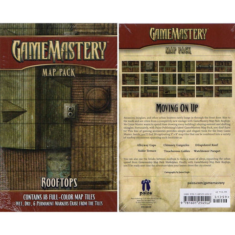 Gamemastery Map Pack Rooftops [PZO4039]