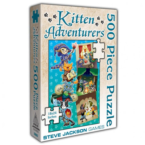 Puzzle: Kitten Adventures 500pc