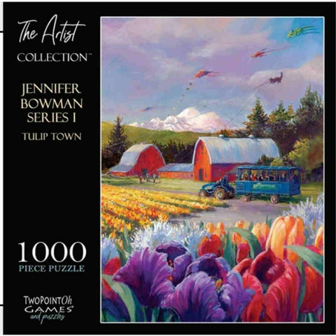 "The Artist Collection: ""Tulip Town"" 1000-Piece Puzzle"