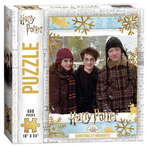 Puzzle: Harry Potter: Christmas at Hogwarts 550 pc