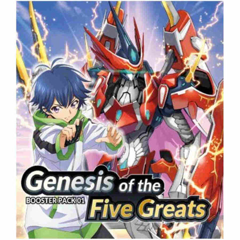 Cardfight!! Vanguard overDress: Genesis of the Five Greats Booster