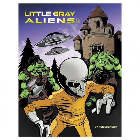 5E: Little Grey Aliens