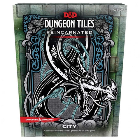 D&D Dungeon Tiles Remastered - The City [WOC49110000]