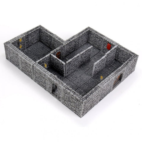 WarLock Tiles: Dungeon II: Stone Wall Expansion [WZK16514]