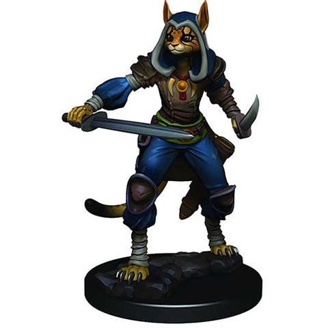D&D Premium Figures: W3 Female Tabaxi Rogue [WZK93012]
