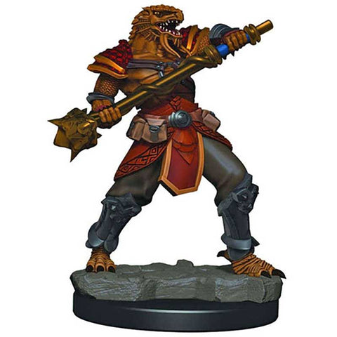 D&D Premium Figures: W3 Male Dragonborn Fighter [WZK93015]