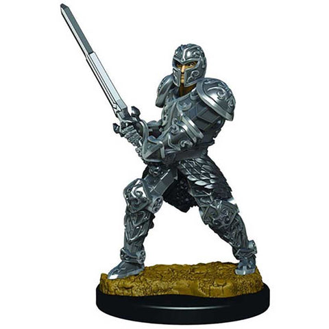 D&D Premium Figures: W3 Male Human Fighter [WZK93017]