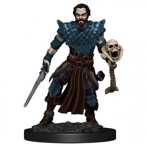 D&D: Icons of the Realm: Premium: W4 Human Warlock Male [WZK93024]