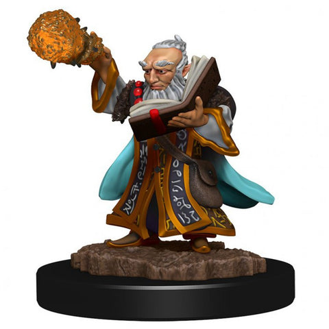 D&D: Icons of the Realm: Premium: Gnome Wizard Male [WZK93038]