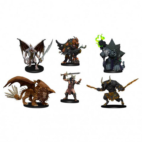 D&D: Icons of the Realms Figure Pack - Descent into Avernus - Arkhan the Cruel and the Dark Order [WZK96014]