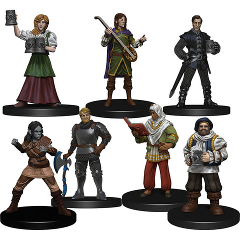 D&D: Icons of the Realms The Yawning Portal Inn - Friendly Faces Pack [WZK96018]