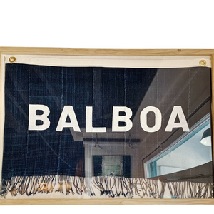 CUSTOM ORDER - BALBOA - Original Flag Art (24x18) - Bird + Belle