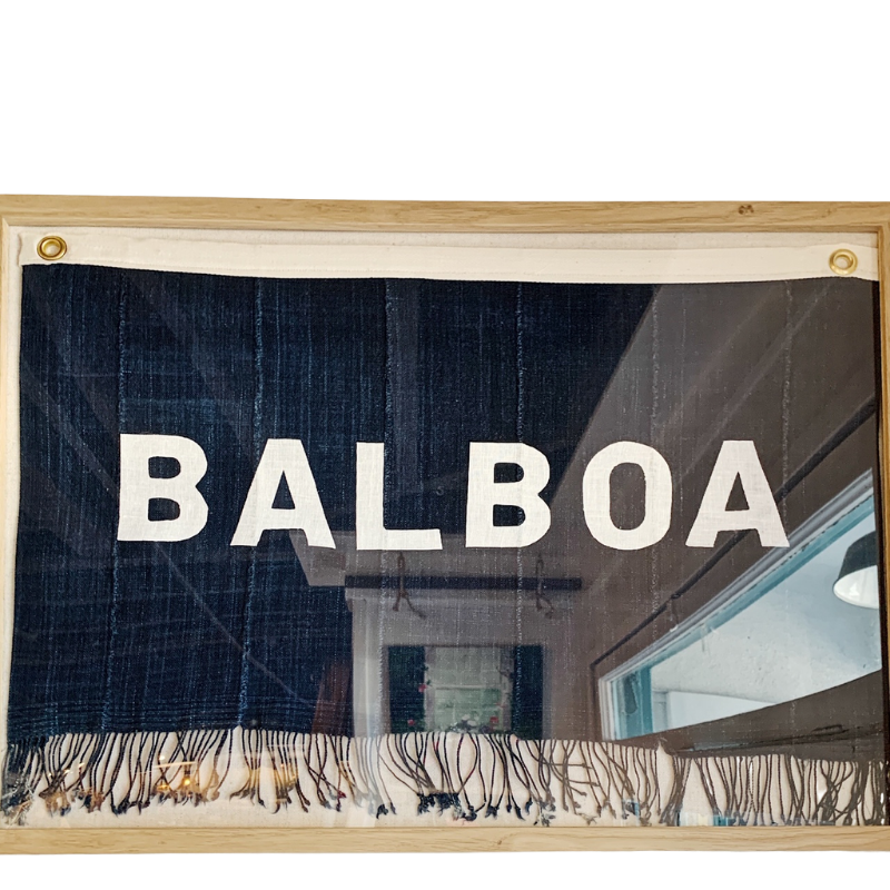 BALBOA - Original Flag Art (24x18) - Bird + Belle