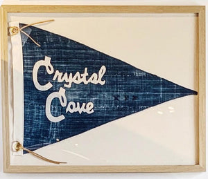 BB - 16x20 CRYSTAL COVE Pennant - Bird + Belle