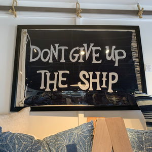 24x36 Custom Don't Give Up The Ship Flag - Bird + Belle