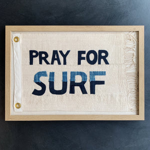 13x19 PRAY FOR SURF FLAG - Bird + Belle