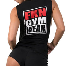 Women's-black-gangsta-sleeveless-top-fkn-gym-wear-usa