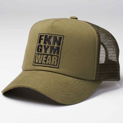 Khaki-fresh-to-death-411-cap-fkn-gym-wear-usa