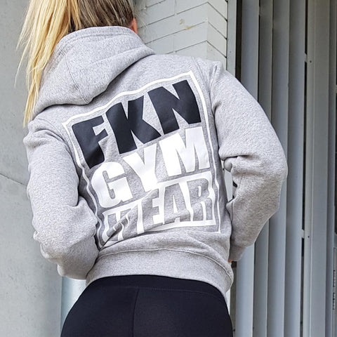 Women's-grey-gun-smuggler-hoodie-fkn-gym-wear-usa