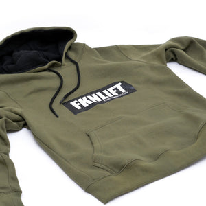 men's-khaki-FKNLIFT-hoodie-FKN-Gym-Wear-USA