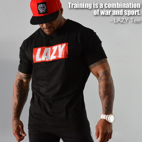 men's-black-LAZY-tshirt-FKN-Gym-Wear-USA