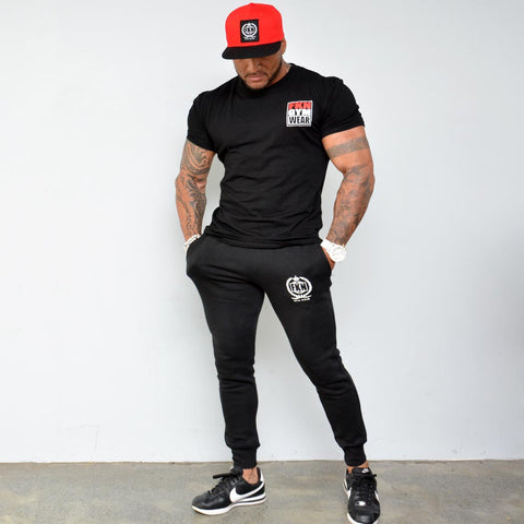 Men's-Black-FKN-premium-logo-Tshirt-fkn-gym-wear-usa