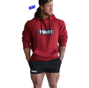 men's-maroon-FKNLIFT-hoodie-FKN-Gym-Wear-USA