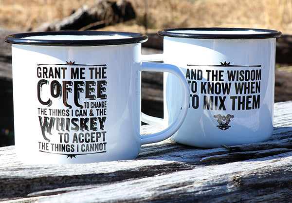 Coffee Whiskey Prayer Mug