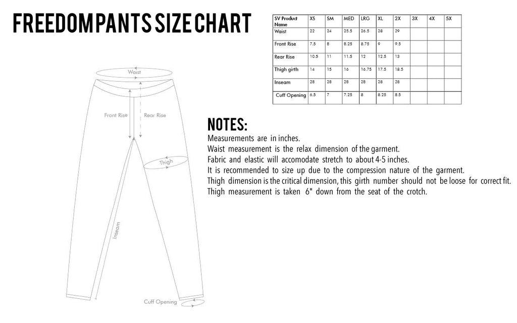 Size Chart  Ranger Up