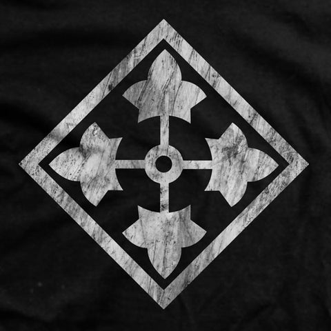 4th Infantry Vintage-Fit T-Shirt