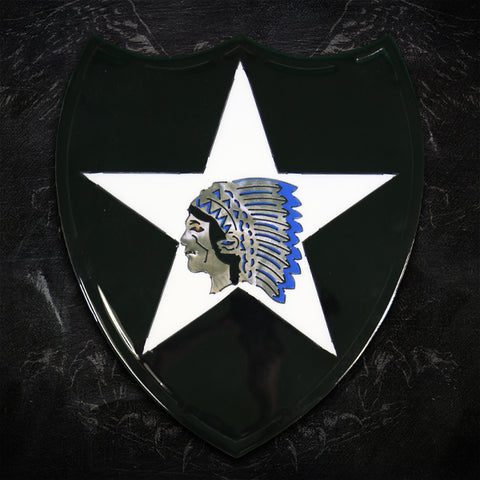 American Liquid Metal - 2nd Infantry Division Sign