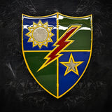 American Liquid Metal - 75th Ranger Regiment DUI Sign