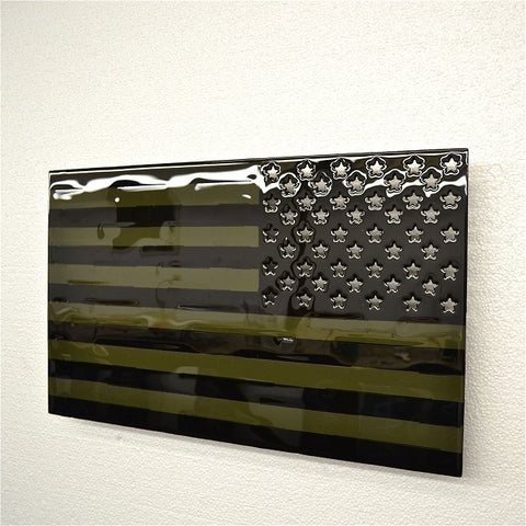American Liquid Metal- Subdued American Flag