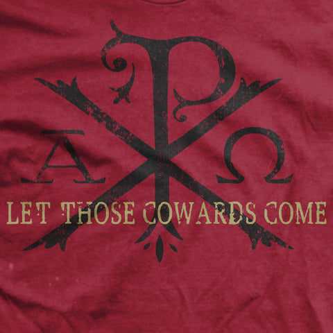 Let Those Cowards Come Ultra-Thin Vintage T-Shirt