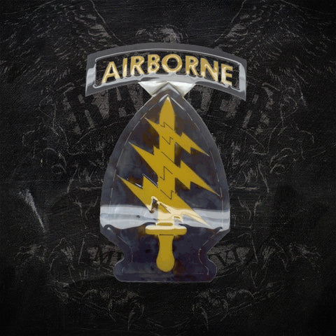 Special Forces Patch Sign