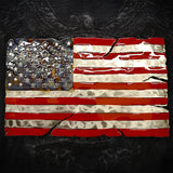 American Liquid Metal - Star Spangled Banner Sign