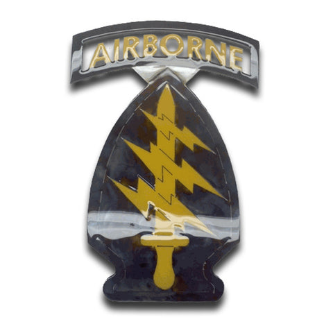 American Liquid Metal - Special Forces Unit Patch Sign