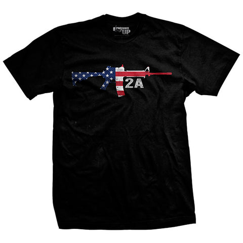 Guns Made Us Free Vintage T-shirt