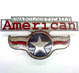 American Liquid Metal - Unapologetically American Sign