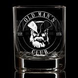 Old Man's Club Whiskey Glass