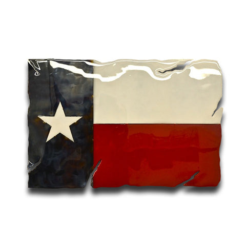 American Liquid Metal - Lone Star Texas Flag Sign