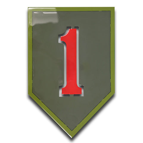American Liquid Metal - Limited Edition 1st Infantry Division Sign