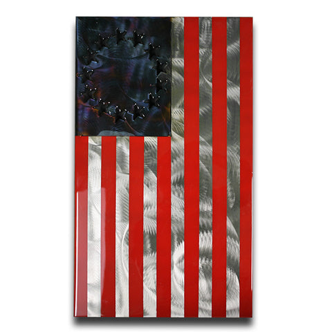 American Liquid Metal - Betsy Ross Draped Sign