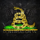 American Liquid Metal - Don't Tread on Me Gadsden Flag Sign