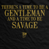 PREORDER Savage Gentleman™ Time To Be Savage Vintage Fit Shirt
