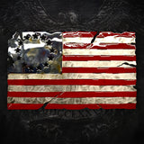 American Liquid Metal - Old Glory Sign