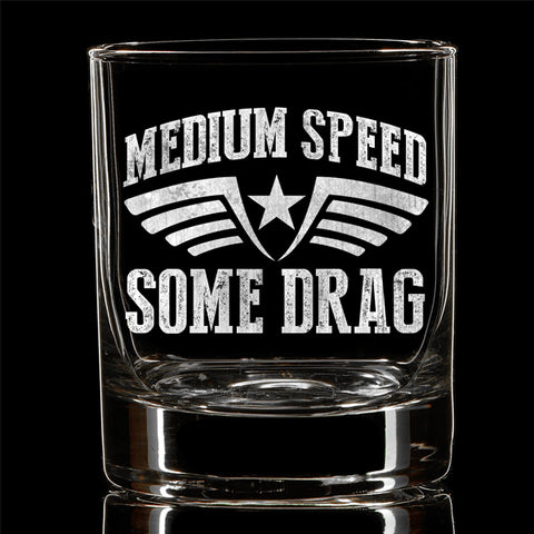 PREORDER Medium Speed Whiskey Glass