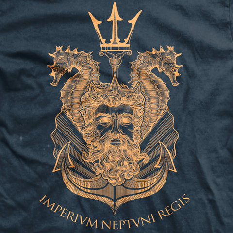 King Neptune Shellback Normal-Fit T-Shirt