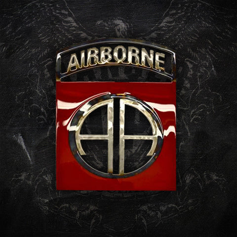 American Liquid Metal - 82nd Airborne Limited Edition Sign